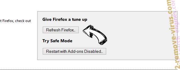 SearchPrivacy.co Firefox reset