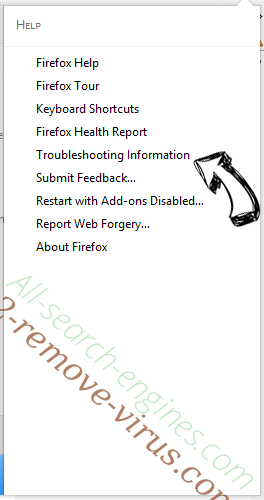 Search.asistents.com Firefox troubleshooting