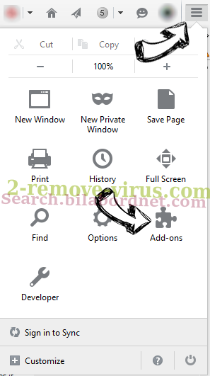 Search.yourrecipescenter.com Firefox add ons