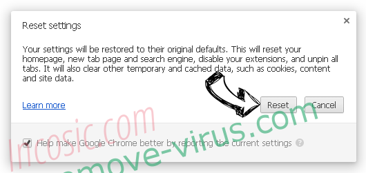 SrchSafe.com Search Chrome reset