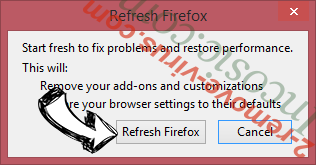 Roomba-search.com Firefox reset confirm