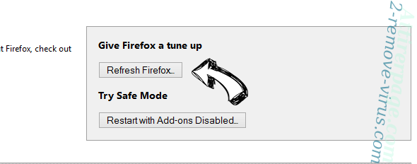 Search.mysofttoday.com Firefox reset