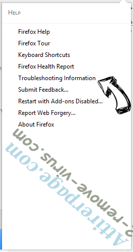 Attirerpage.com Firefox troubleshooting