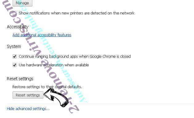 Rogue Chromium Browsers Chrome advanced menu