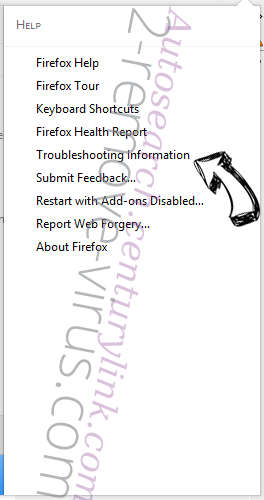 WinSnare Virus Firefox troubleshooting