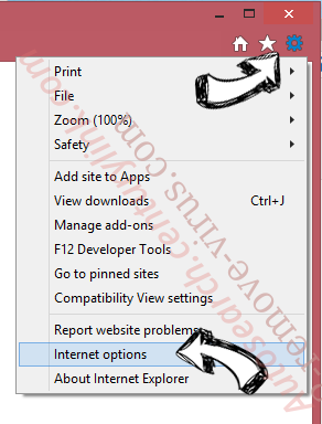 EasyDirectionsFinder Toolbar IE options