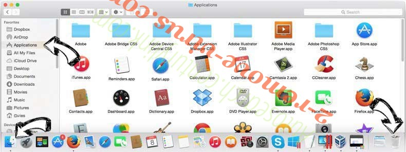 MyFastDial One New Tab rimozione removal from MAC OS X