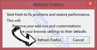 Search.razoss.com Firefox reset confirm