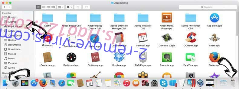 Search.razoss.com removal from MAC OS X