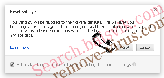 Search.heasyrecipesnow.com Chrome reset