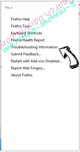 Search.searchgmfs.com Firefox troubleshooting
