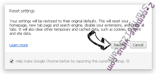 Searchz.co Chrome reset