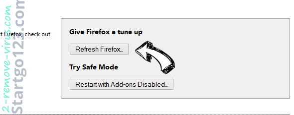 Search123now.net Firefox reset