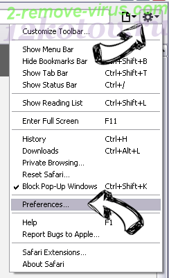 BartCrypt Safari menu