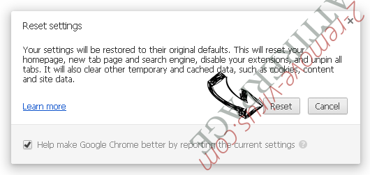 Search.cleanmybrowser.com Chrome reset