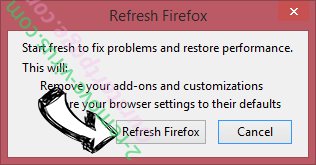 Supprimer Zepto Locker Virus Firefox reset confirm