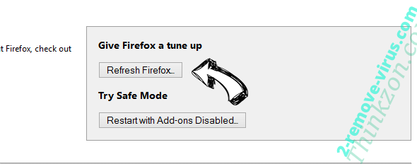 Thinkzon.com Firefox reset