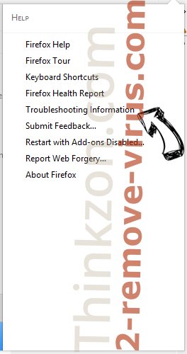 Thinkzon.com Firefox troubleshooting