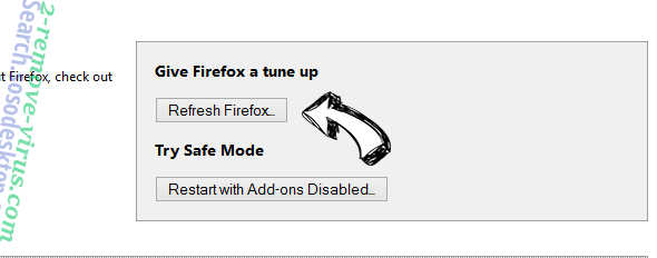 Wind Browser Firefox reset
