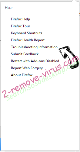 Search.sosodesktop.com Firefox troubleshooting