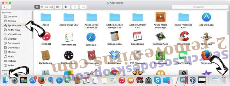 100searchengines.com entfernen removal from MAC OS X