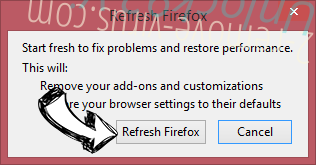 Search.ontakehope.com Firefox reset confirm