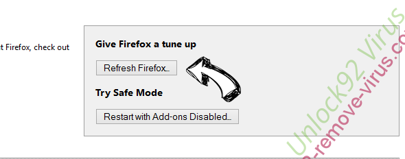 Search.ontakehope.com Firefox reset