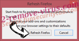 FF Update Checker adware Firefox reset confirm