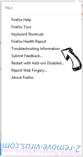 Zacinlo Virus Firefox troubleshooting