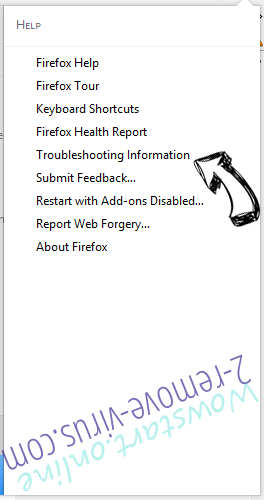 Your-search.com Firefox troubleshooting