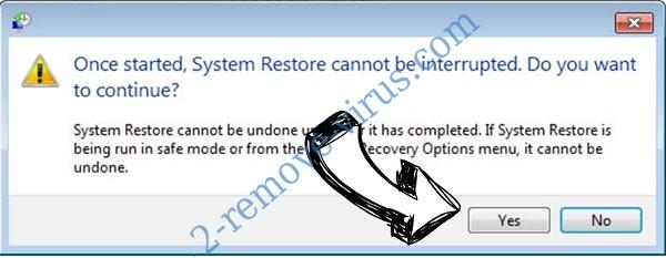 eCh0raix file virus removal - restore message