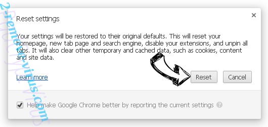 Qxsearch.com Chrome reset