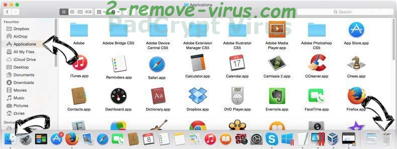 PadCrypt Virus removal from MAC OS X