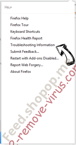 Feed.shopop.me Firefox troubleshooting