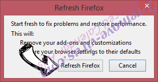 Isearch.appiance.com Firefox reset confirm