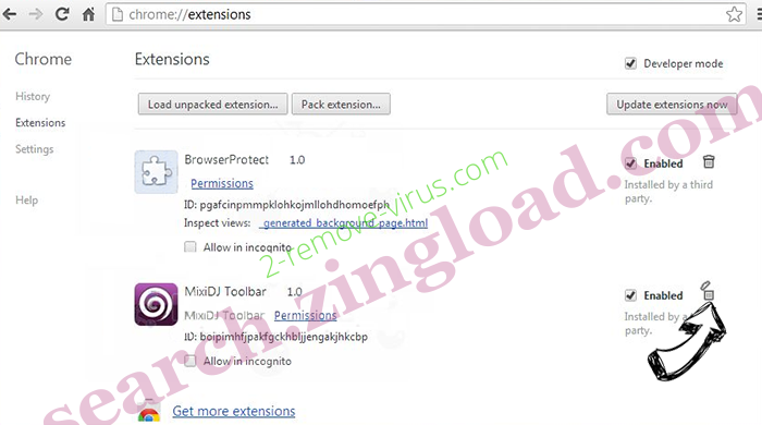 BrowsePlus Ads Chrome extensions remove