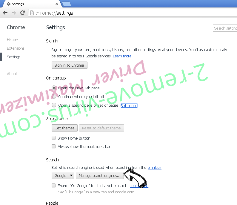 WinAD Chrome extensions disable