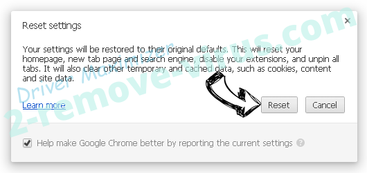 Driver Maximizer Chrome reset