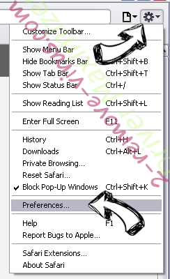 Driver Maximizer Safari menu