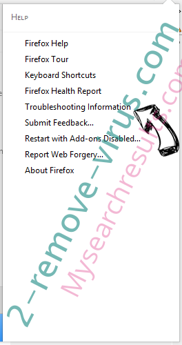 Mysearchresults.com Firefox troubleshooting