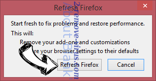 SuperAdRomove Ads Firefox reset confirm