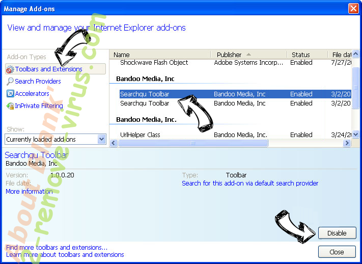 SuperAdRomove Ads IE toolbars and extensions