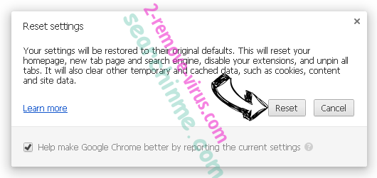Wizesearch.com Chrome reset