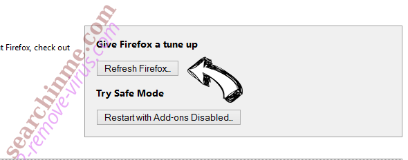 Start-pagesearch.com Firefox reset