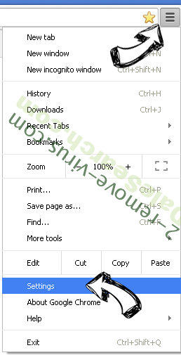 MySportTab Toolbar Chrome menu