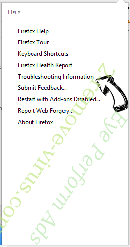Eye Perform Ads Firefox troubleshooting