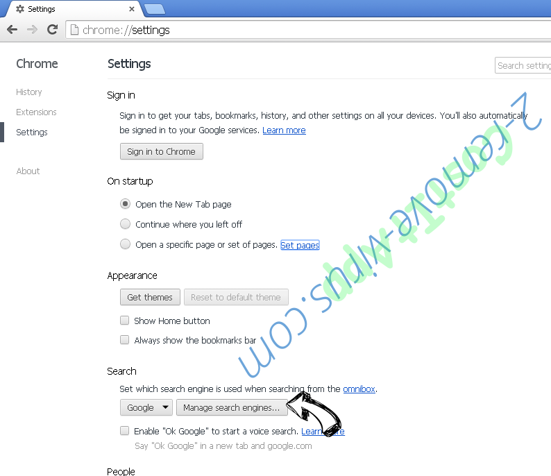 TabTab.xyz Chrome extensions disable