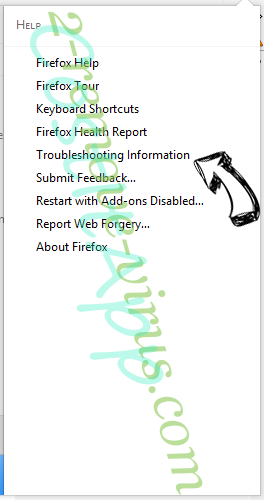 Search.certified-toolbar.com Firefox troubleshooting