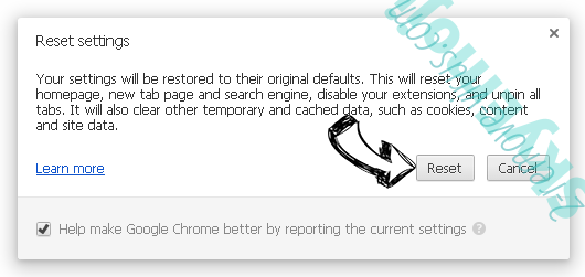 Search.societycake.com Chrome reset