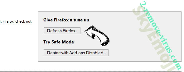Search.anchorfree.net Firefox reset